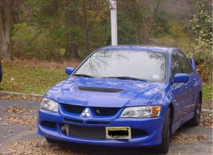 Fast Mitsubishi Evolution member's ride