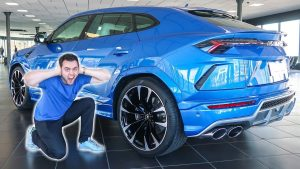 THE LAMBORGHINI URUS SOUND FROM HELL!