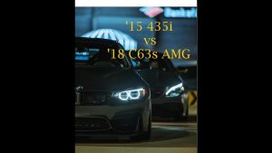 Who should win? '18 Mercedes C63s AMG vs '15 BMW 435i (stage 2)