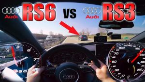 Audi RS6 Performance vs  tuned RS3