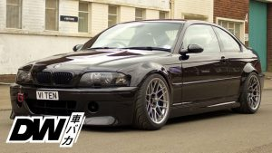 V10 BMW E46 M3 insanity exhaut sound from HELL!