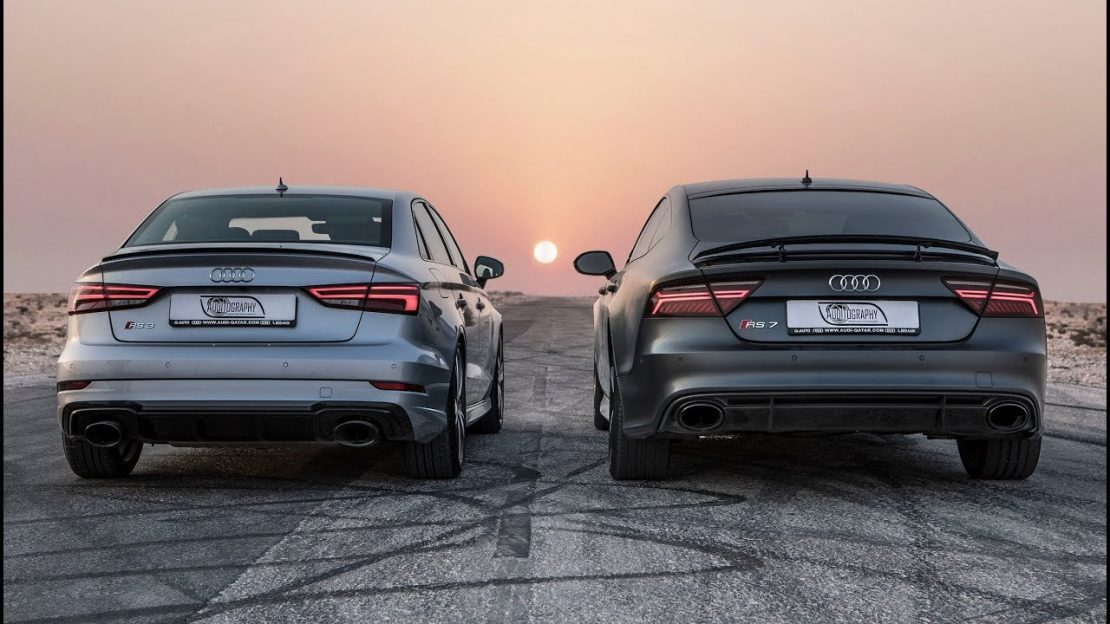 Dragrace Audi Rs3 Sedan Vs Audi Rs7 Performance Who S The Audi Rs