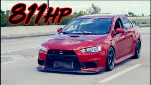 811HP Mitsubishi Evolution