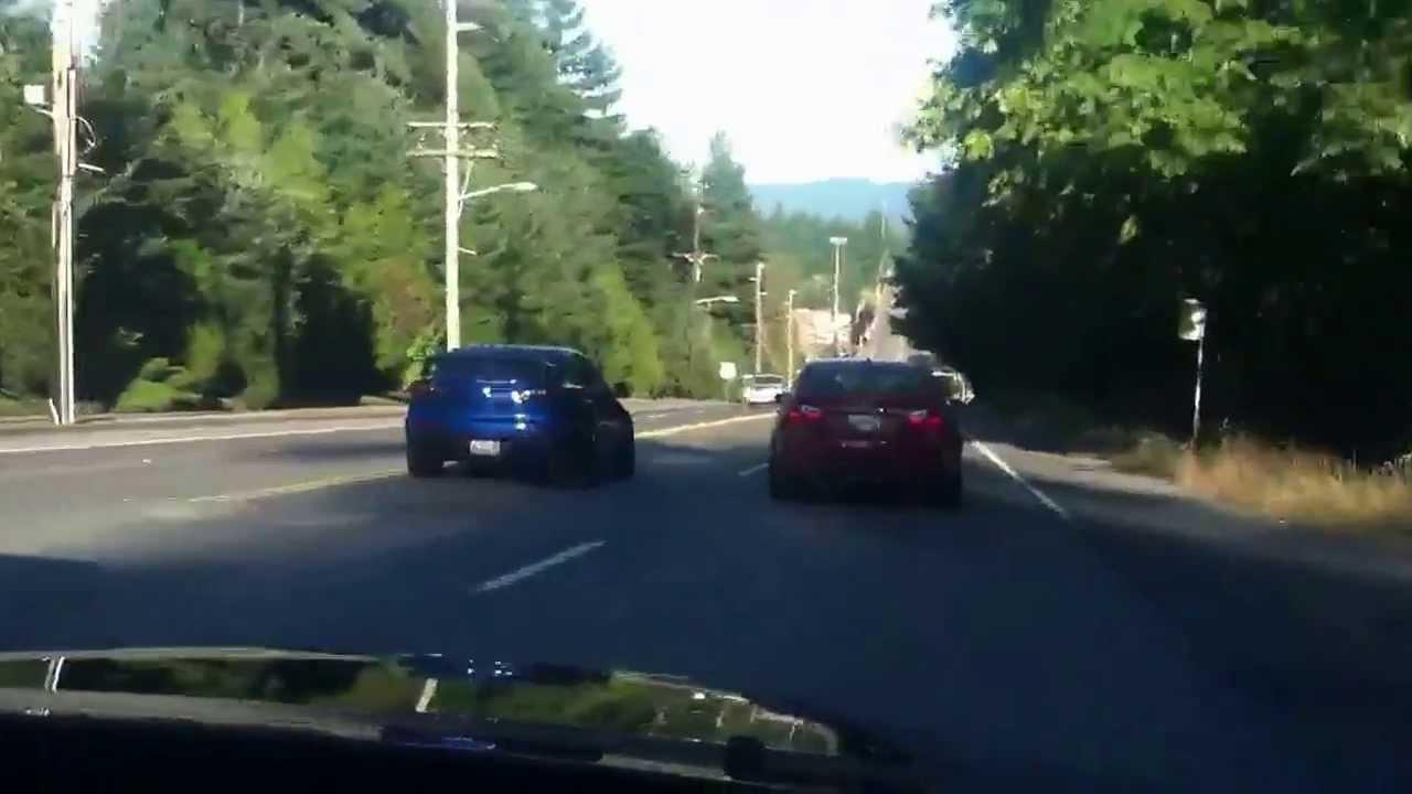 Evo X vs. BMW M3 Street Race