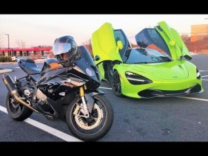 TUNED 720S vs BMW 1000RR!!! + Steve's Car Explodes…