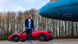 Ferrari's & Eagles – A Ridiculously Good Day!