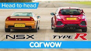 Honda Civic Type R vs Old NSX –DRAG RACE, ROLLING RACE & BRAKE TEST | Head-to-Head