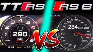 0-310km/h | Stock Audi TT RS is faster than RS6 Performance ⁉️