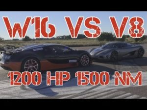 [50fps] EPIC 1140 HP Koenigsegg Agera R vs 1200 HP Bugatti Veyron Grand Sport Vitesse MEMORIES!