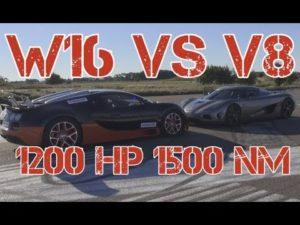 [50fps] EPIC 1140 HP Koenigsegg Agera R vs 1200 HP Bugatti Veyron Grand Sport Vitesse MEMORIES!